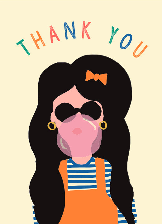 Emma Cooter Draws Box of 8 Assorted Thank You Mini Cards - P29 A-G