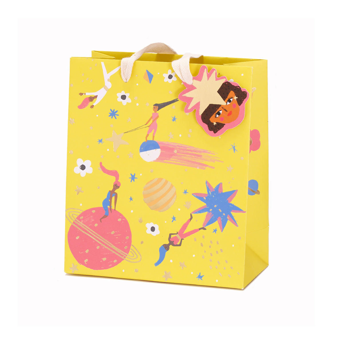 Carolyn Suzuki Planet Fun Medium Gift Bag