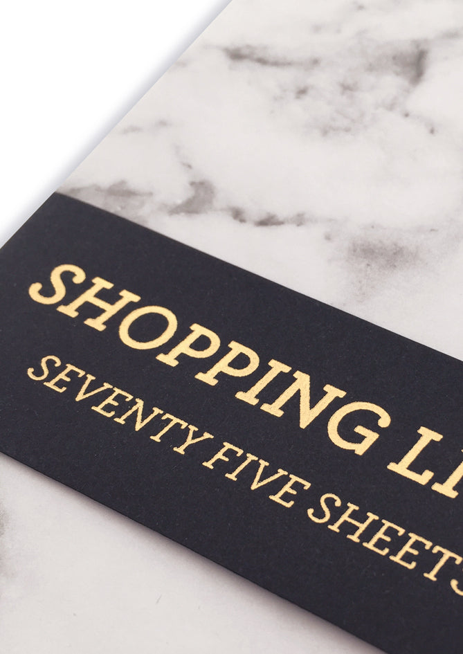 Marble Shopping Pad - C2