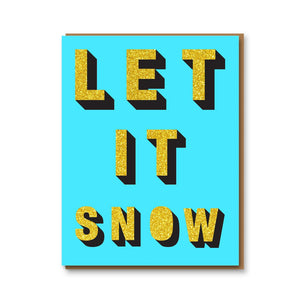 Open image in slideshow, Glitter Let it Snow - HB3