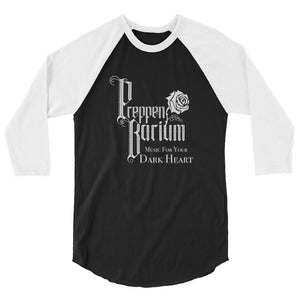 "Preppen Barium ""Music For Your Dark Heart"" 3/4 Sleeve Raglan Shirt"
