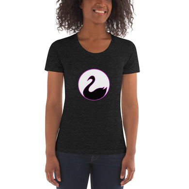 "American Apparel Ladies ""Black Swan"" Crew Neck Tee"