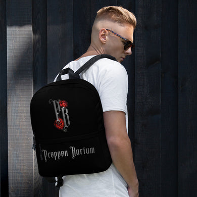 Preppen Barium Black Rocker Backpack