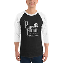 "Load image into Gallery viewer, Preppen Barium ""Music For Your Dark Heart"" 3/4 Sleeve Raglan Shirt"
