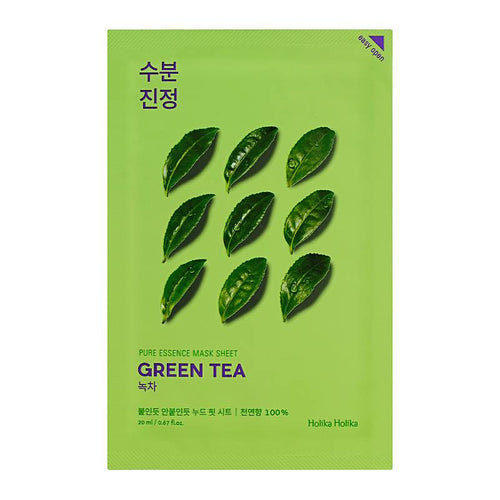 Holika Holika Pure Essence Sheet Mask Green Tea