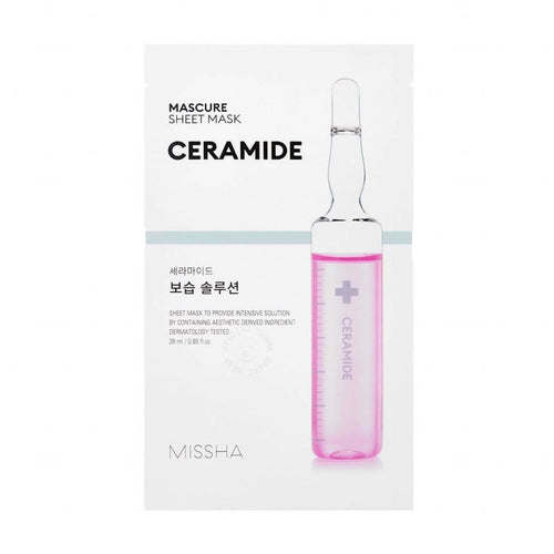 Missha Mascure Ceramide Rescue Solution Sheet Mask