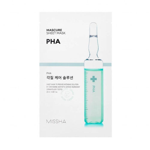 Missha Mascure PHA Rescue Solution Sheet Mask