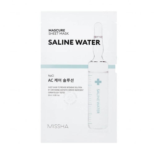 Missha Mascure Saline Water Rescue Solution Sheet Mask