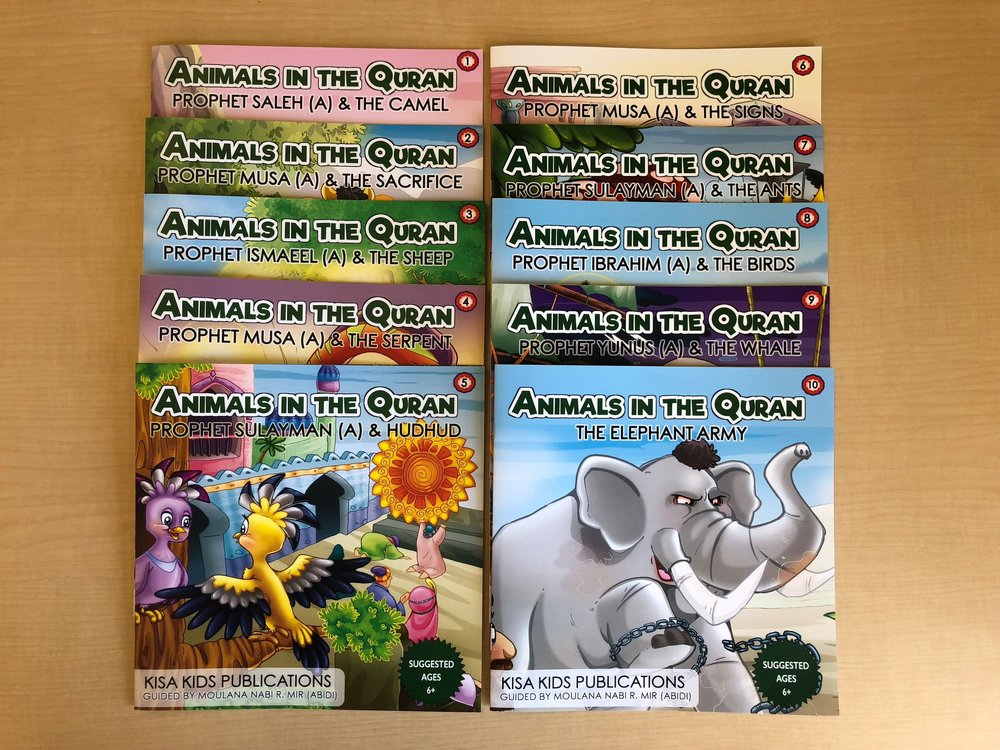 Animals in the Quran – A 10-Book Series (Suggested Ages 6+)