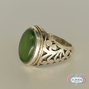 Islamic Ring (Green)