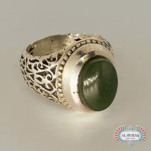 Load image into Gallery viewer, Islamic Ring (Green)-al-Burāq