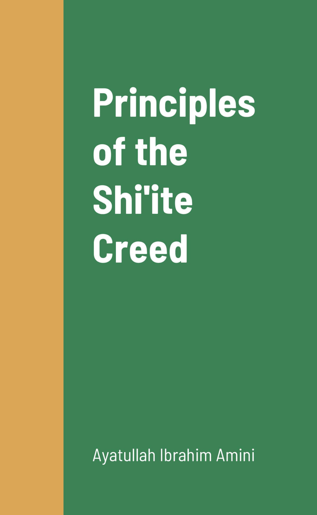 Principles of the Shi'ite Creed