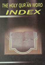Load image into Gallery viewer, The Holy Qur'an Word Index-al-Burāq