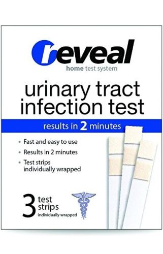 Reveal Urinary Tract Infection Test 3 Test Stripes