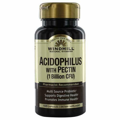 Windmill Acidophilus with Pectin Capsules 100.0 Count