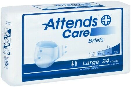 Attends Care Adult Diaper Brief L BRHC30 24/ Bag