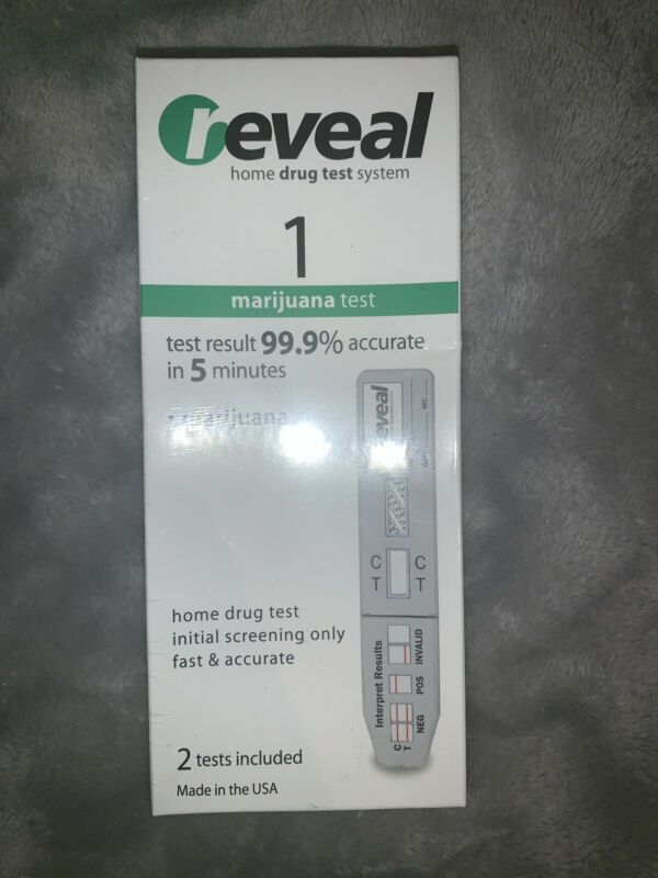 Reveal 1 Marijuana RT-THC At Home Drug Test Kits 2 Test Exp: 4/19