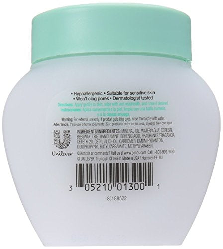 Pond's Cold Cream Cleanser 3.5 oz (Pack of 4)