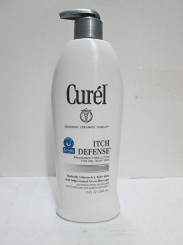 Curel Itch Defense Lotion 13 Ounce Pump (384ml) (6 Pack)