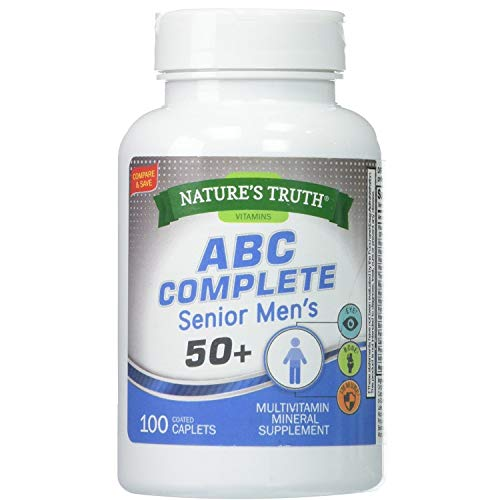 Nature's Truth ABC Complete Mens 50+ Multivitamin 100 Count (2)