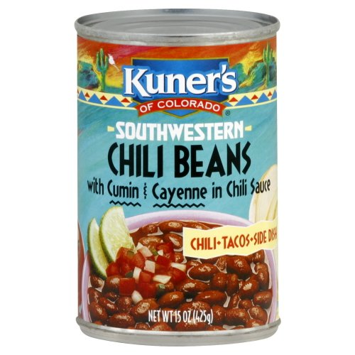 Kuner Southwestern Chili Beans - Case of 12 - 15 oz.