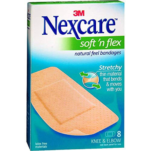 Nexcare Soft 'n Flex Bandages 8 Each (Pack of 3)