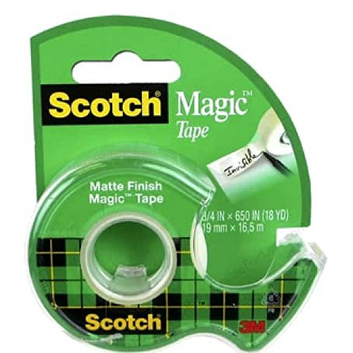 "3M 122 3/4"" x 650"" Scotch Magic Tape"