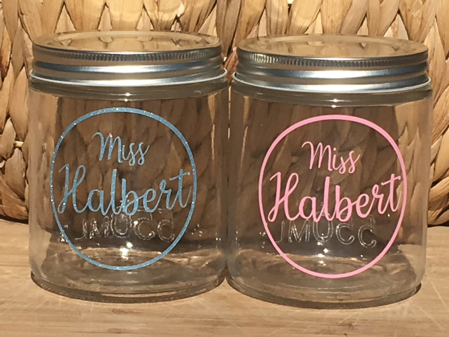 Name in Circle Outline | Personalised Name Label