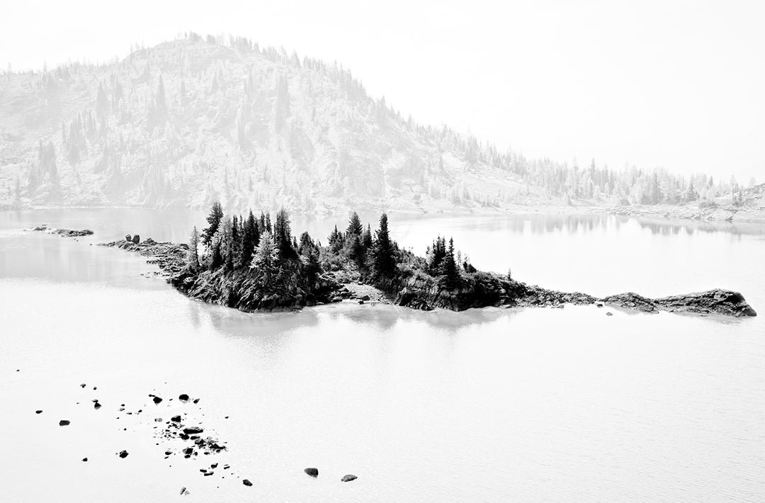 "Rock Isle Lake, Banff NP (11""x 17"" Unframed) $256.00 CDN"