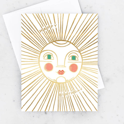 Sun Birthday Card
