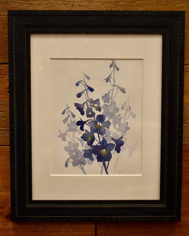 Framed Original 8x10 Watercolors - Dani Antes