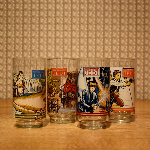Return of the Jedi Glasses Set of 4