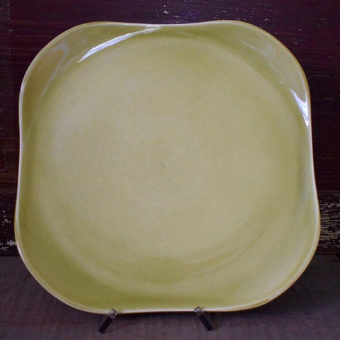 Chartreuse Curry Chop Plate