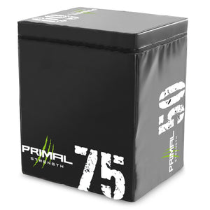 Primal Strength Commercial PU Covered Wooden Plyo Box