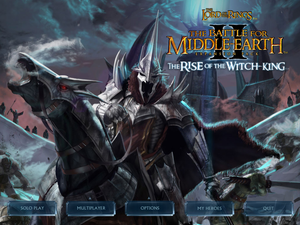 "Battle For Middle-Earth II: Rise of The Witch-King - ""PC Download"" - Compatible with Windows: 10, 8, 7, Vista, XP. ""Read the description"" - The Lord Of The Rings Games Video Game return of the king Video Game bfme2 rotwk Video Game war in the north lotr conquest"