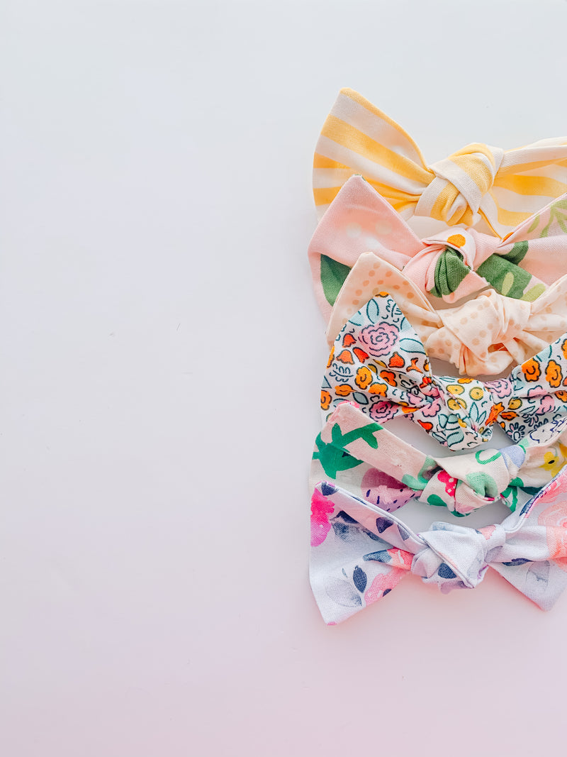 Spring Knot Bow Grab Bag-PIGTAILS