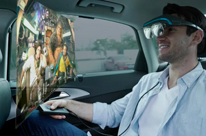 Dream Glass 4K-Portable & Private AR Entertainment