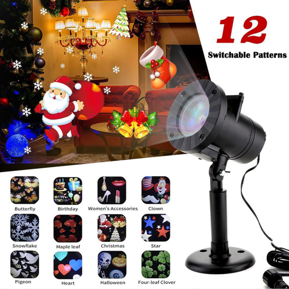 🔥BLACK FRIDAY PROMOTION🔥Christmas Home Decoration Projector Lights