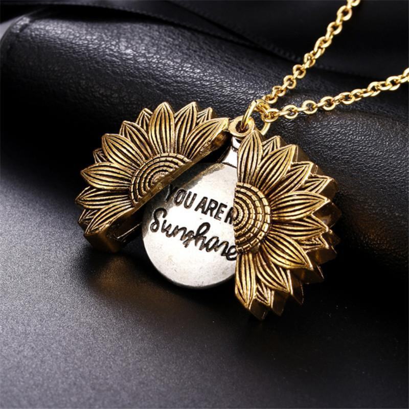 🌻You Are My Sunshine Sunflower Necklace🔥Buy 1 Get 1 Free🔥