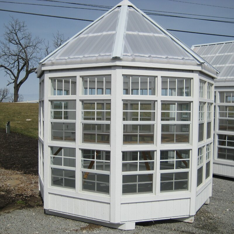8 Ft. W x 8 Ft. D Greenhouse - Eco Friendly Ecommerce Store