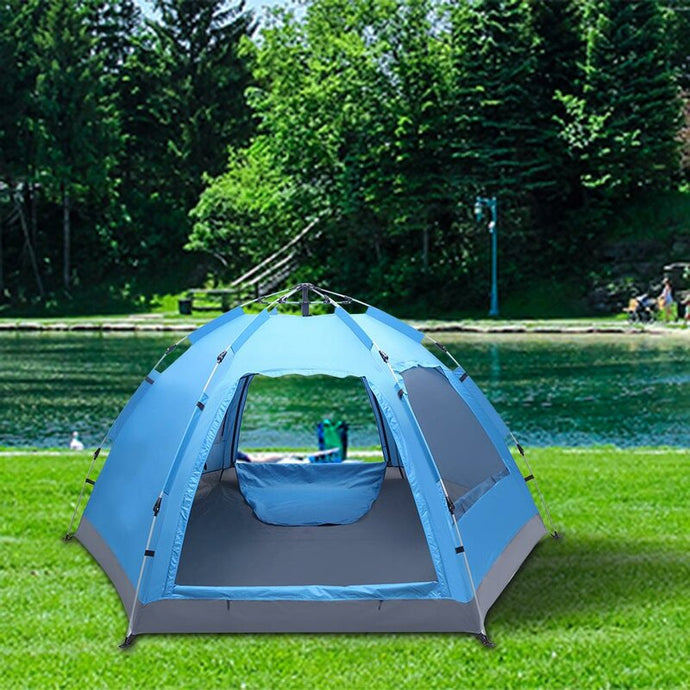 Automatic Set up Waterproof Camping 4 Person Tent - Eco Friendly Ecommerce Store