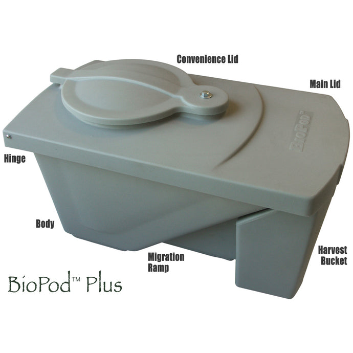 The BioPod Plus BioConversion Bin - Eco Friendly Ecommerce Store