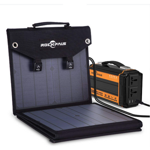 Rockpals 60W Foldable Solar Panel - Eco Friendly Ecommerce Store