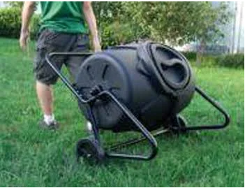 Koolatron WTCB-50 Wheeled Heavy Duty Composter - Eco Friendly Ecommerce Store