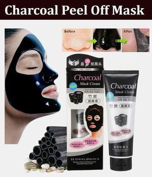 CHARCOAL PEEL OFF MASK - PACK OF 4