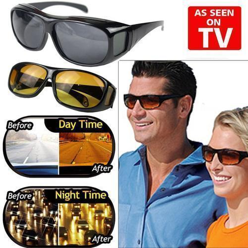 HD VISION DAY & NIGHT DRIVING GLASSES