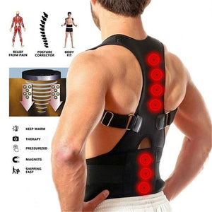 MAGNETIC FLEX POSTURE BELT (UNISEX) - RELIEF FROM BAD POSTURE AND BACK PROBLEMS!