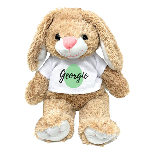 Green Egg Graphic Personalized Easter Bunny 16