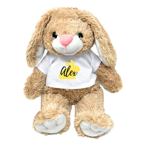 Yellow Bunny Graphic Personalized Easter Bunny 16