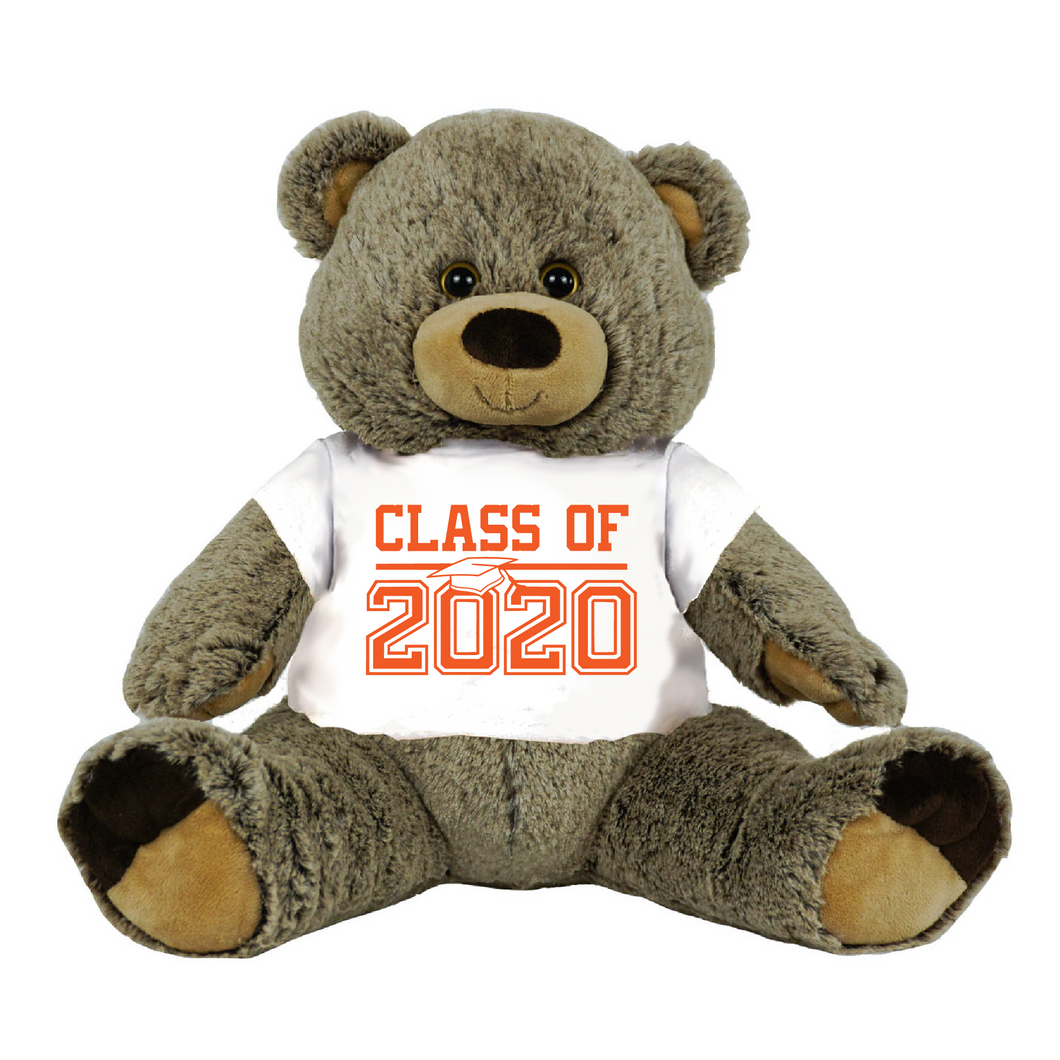 Gray Colored College Graduation Personalized 16